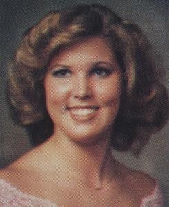 Julie Mathis 1983 Rebelee Yearbook Pic