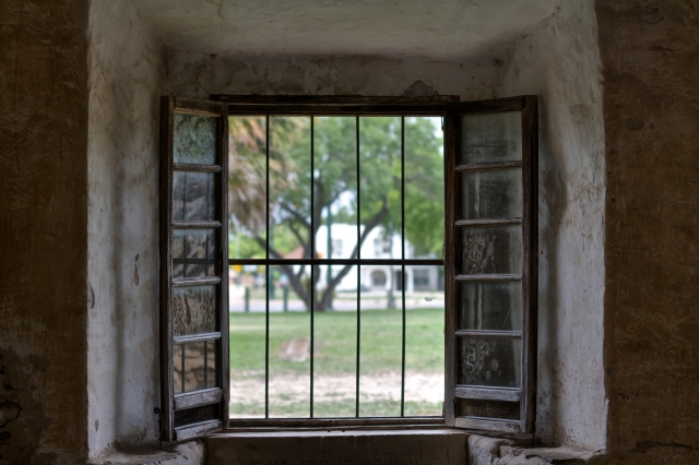 An open window spanning across time. Symbolic of my life right now.