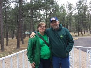 My oldest daughter Andrietta and myself travelled to see mom and Jody in Ruidoso, NM for spring break of 2015. The long trip was a bit of a stretch for me, but I made it!